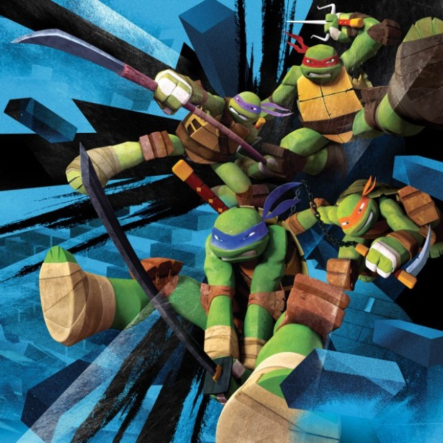 TMNT on Nickelodeon  Image Courtesy of Nickelodeon
