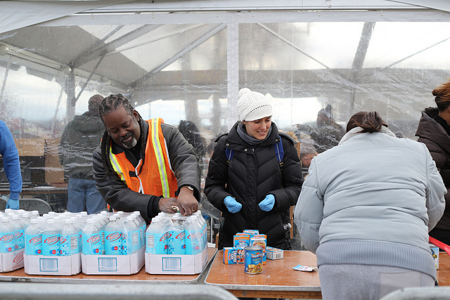 hurricane sandy compassion, human nature kindness, crisis and altruism,