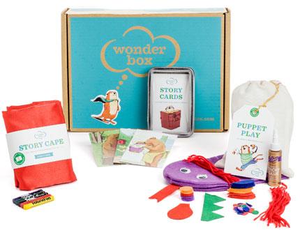 Wonder Box contents