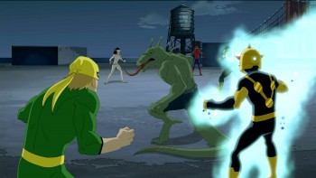 Ultimate Spider-Man and his team of Teenage Superheroes Image: Courtesy of Marvel