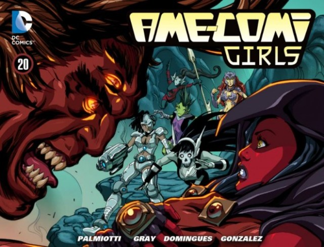 DC Comics Ame Comi Girls Issue #20