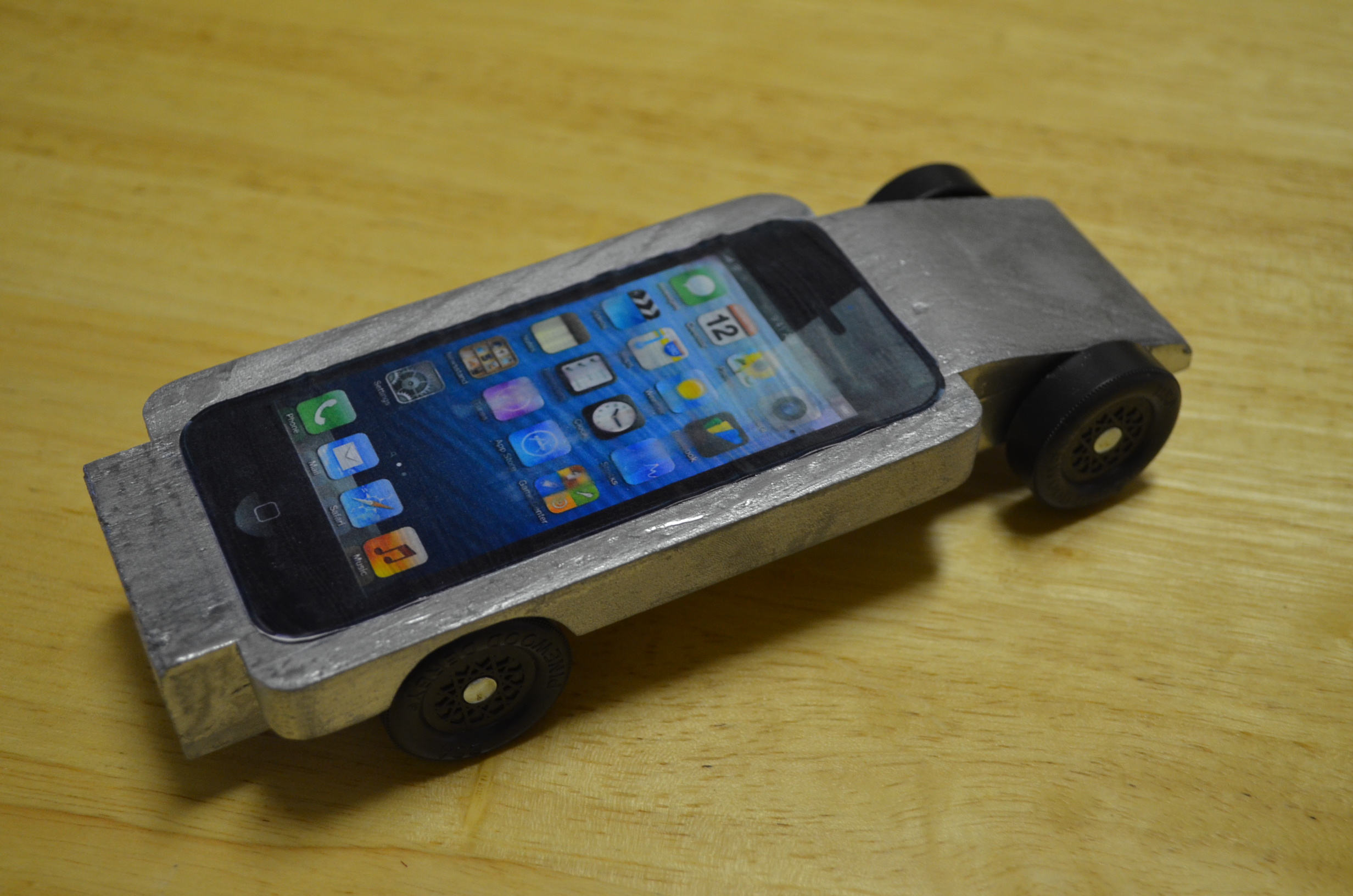 My Sons IPhone Pinewood Derby Car WIRED