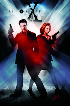 X-Files Comic Artwork © IDW Publishing
