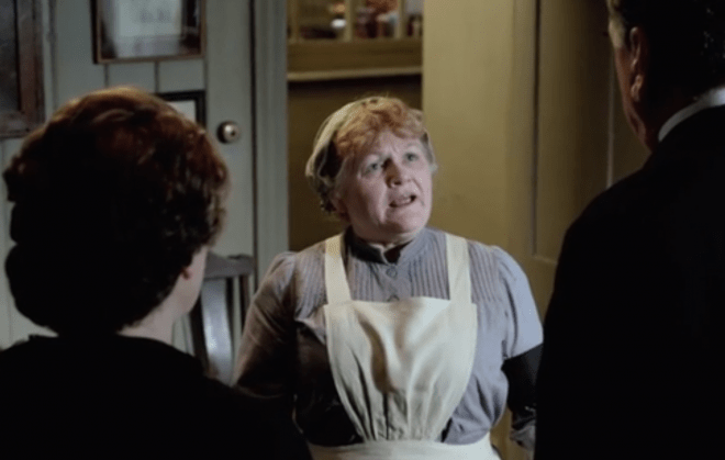 Mrs. Patmore's in trouble