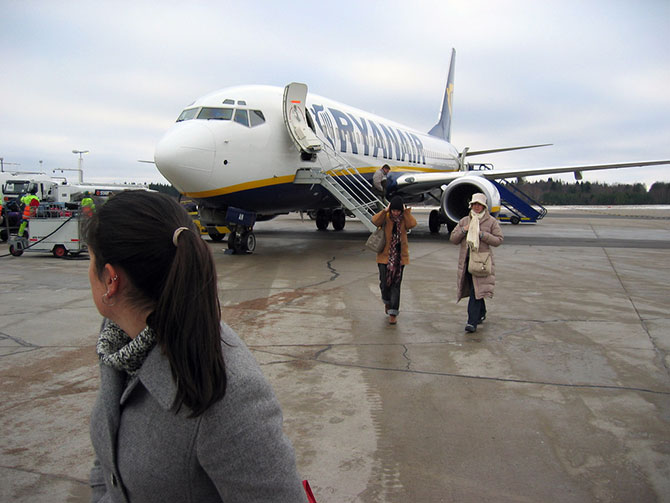 These passengers refused the blow js for peanuts program Ryanair is currently running