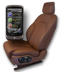 The Car Seat of Tomorrow Is Self-Adjusting and Bluetooth ...
