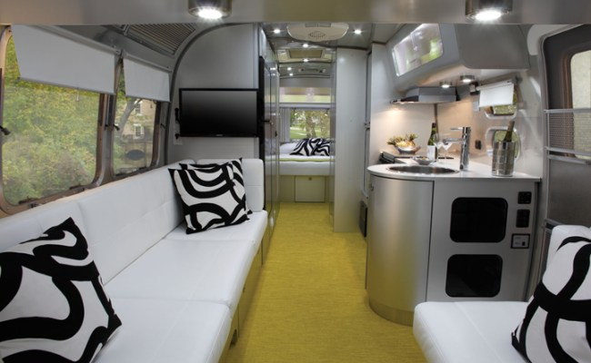 Airstream Sterling A Shining Example Of Aluminum