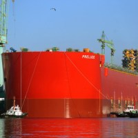 Shell Launches World's Largest Ship