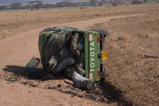 Toyota rollover