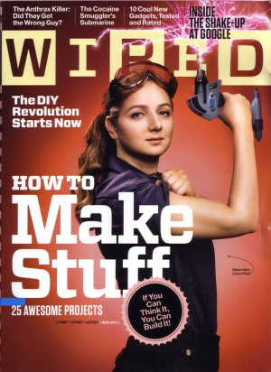 Wired maker issue cover