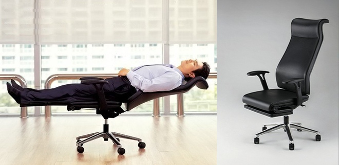 FoldFlat Office Chair for AtDesk Siestas  WIRED