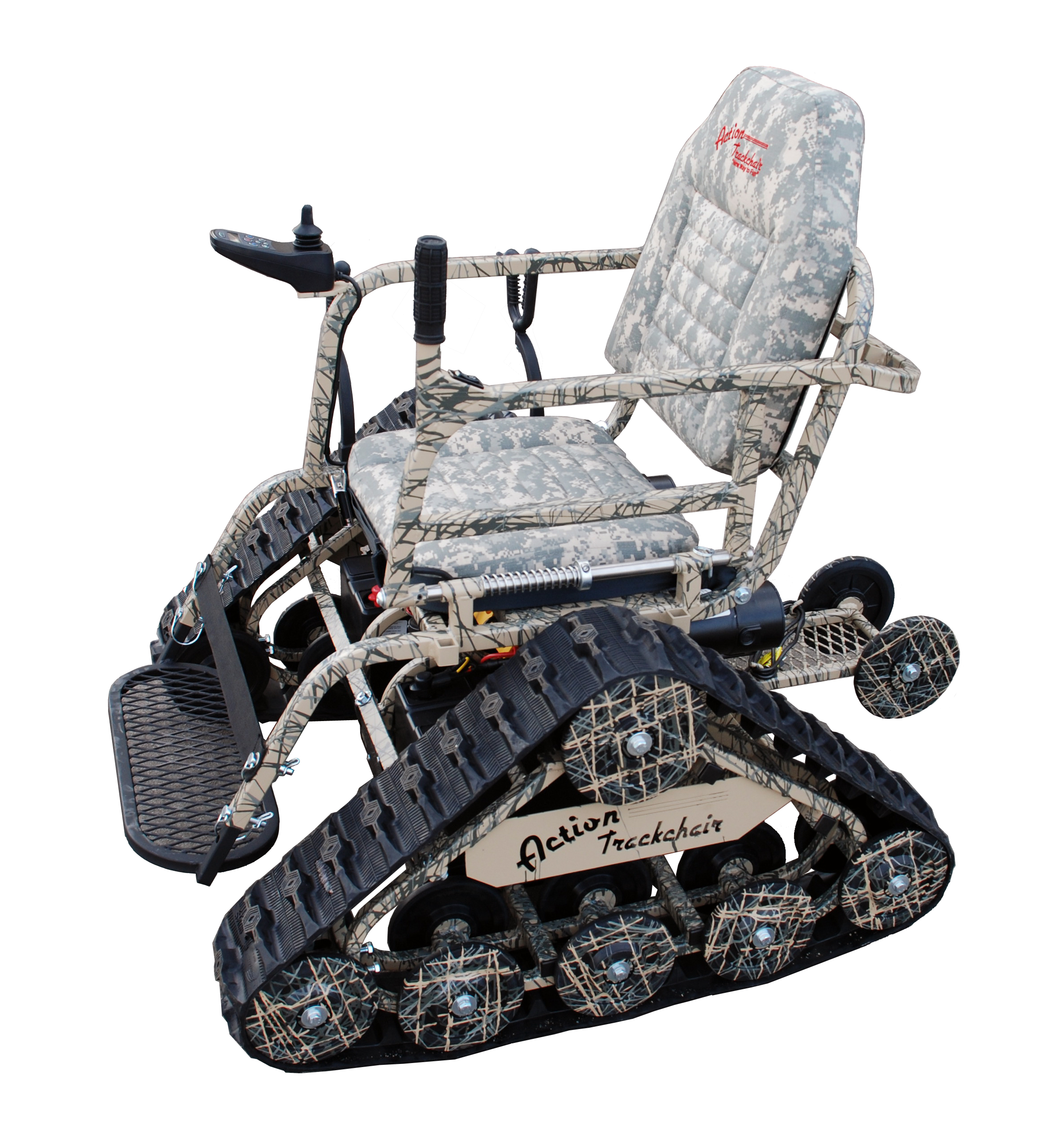 all terrain electric wheelchair serta office chairs most badass weve ever seen action trackchair