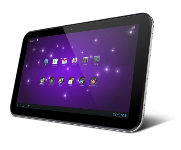 Toshiba' 13- Excite World Tablet Large Wired