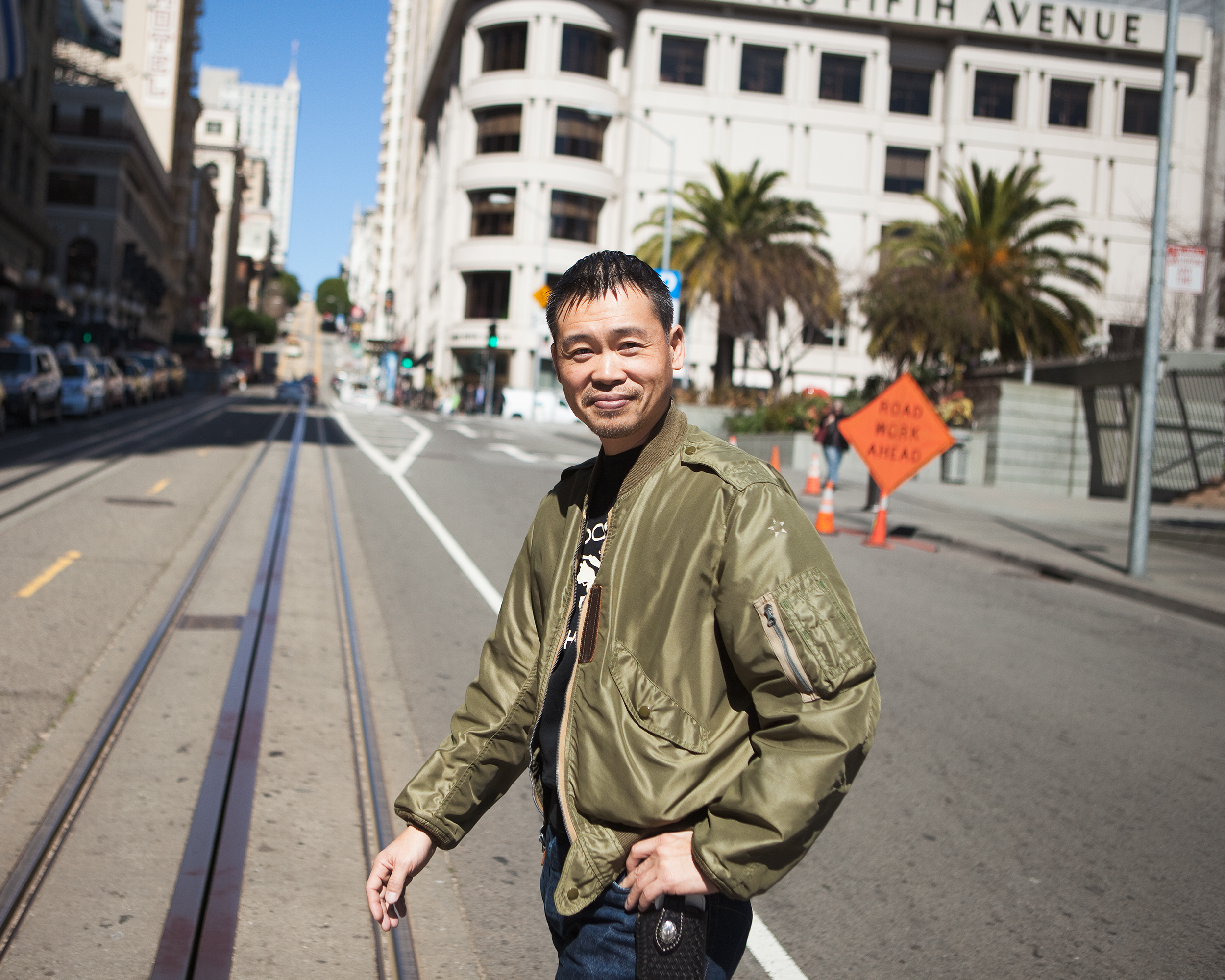 Keiji Inafune visits San Francisco for Game Developers Conference in March.
