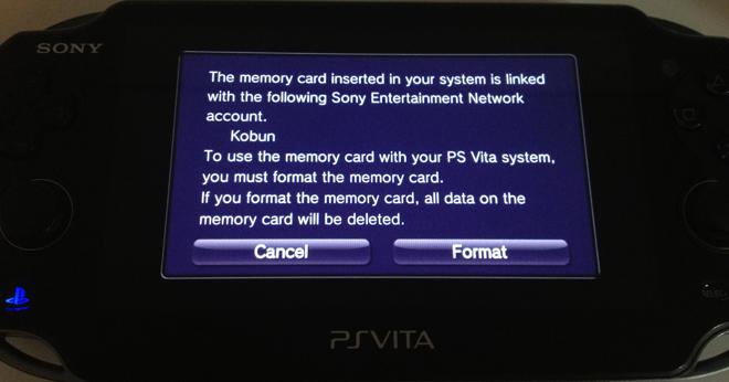 [外電消息] PS Vita韌體更新後將記憶卡與單一PSN帳號鎖定 - Mobile01