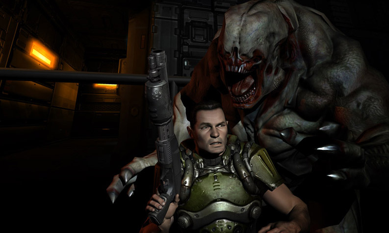 doom 4 announced id