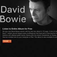 Listen to David Bowie's First Album in 10 Years for Free Online (Legally)