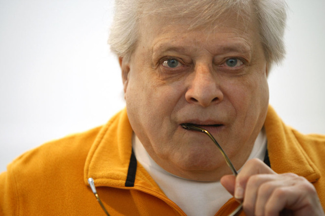 Harlan Ellison, in Austin, Texas for SXSW 2008, Wired Magazine image