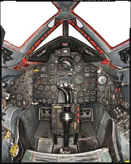Spy Plane cockpit