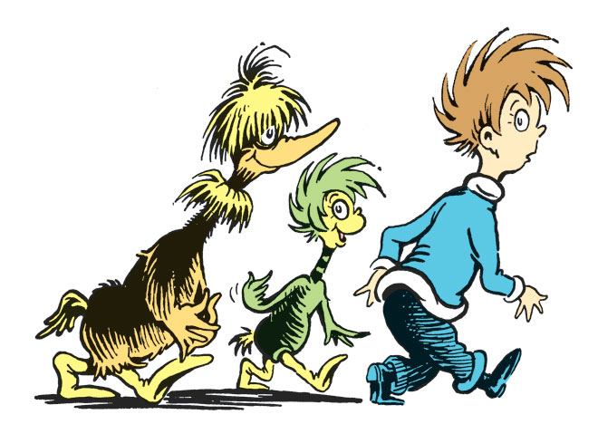 Illustration: Dr. Seuss Enterprises, L.P. 2011