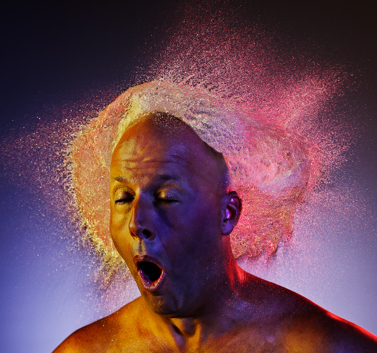 Water Wigs, by photographer Tim Tadder in Wired