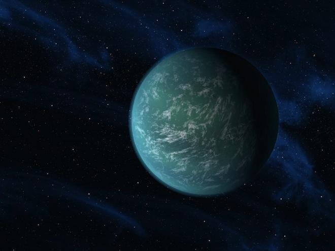 A Possibly Habitable, Earth-Like Planet