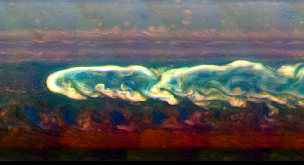 Saturn Turbulence