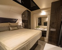 Million Dollar RV Interior Bed