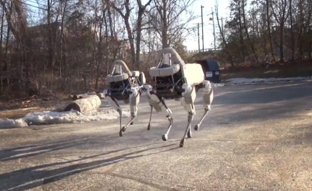 The Creepy Collective Behavior of Boston Dynamics' New Robot Dog