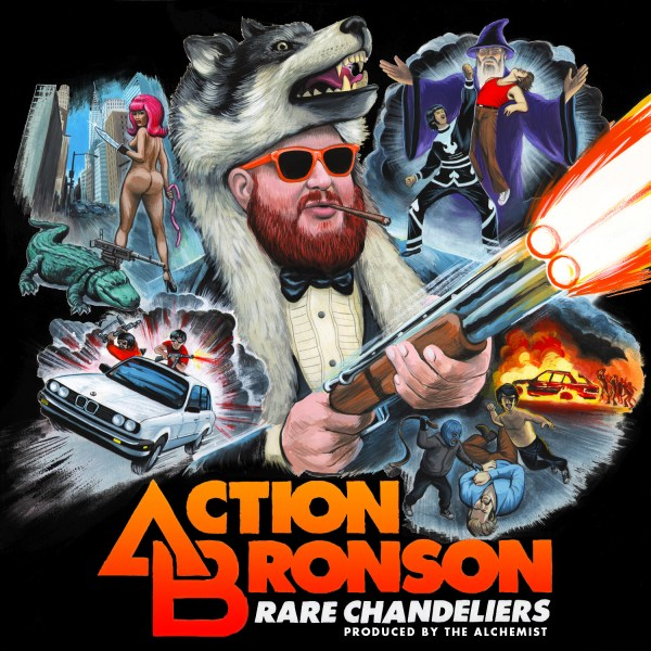 Action Bronson Album Art Insane Lyrics Wired
