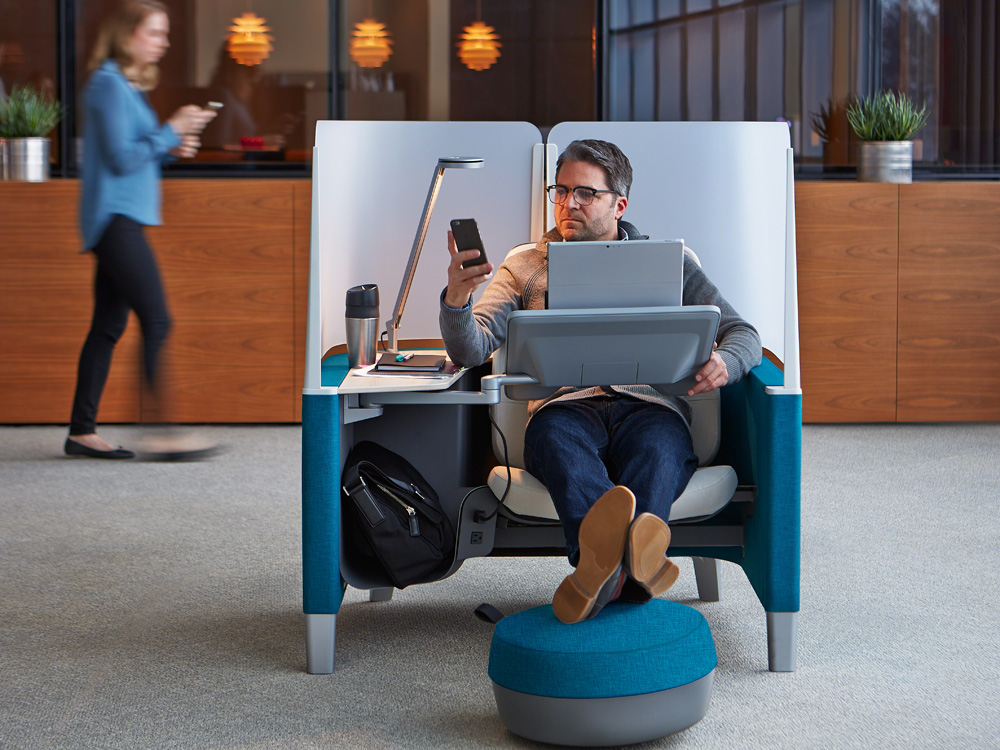 A Private Office Pod Thatll Help You Find Your Work Flow