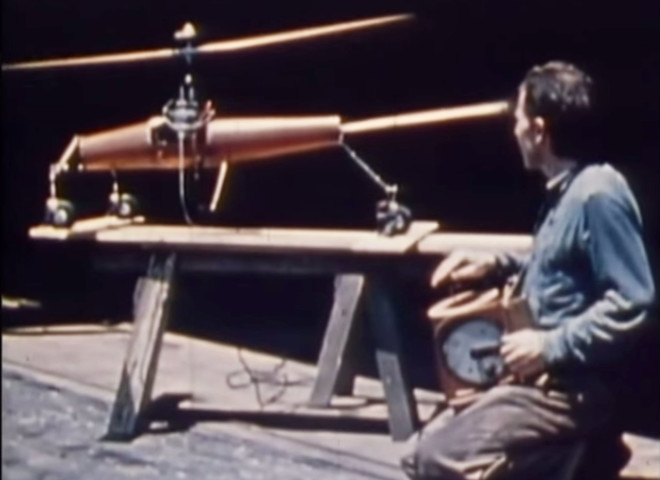 Tech Time Warp of the Week: The 1940s RC Copter That Paved the Way for Amazon's Drones