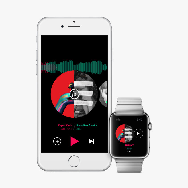On the Apple Watch, the Best DJ Is an AI