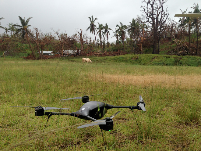 In Cyclone-Ravaged Vanuatu, a Drone Helps Survey the Damage