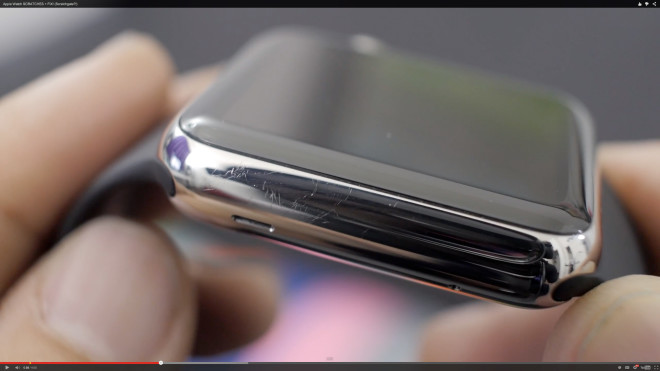 Yeah, the Apple Watch Scratches—All Stainless Steel Watches Do
