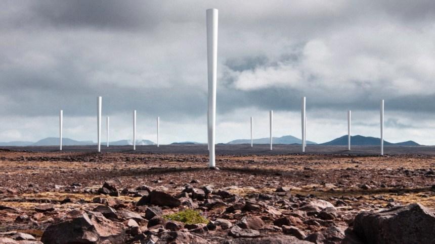Power generating wobbling poles