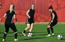 Us Women's Soccer Team Training