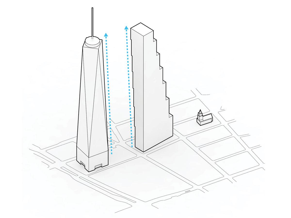 hight resolution of diagram of world trade center