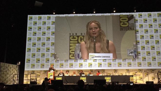 The 10 Most Jennifer Lawrence Things Jennifer Lawrence Said at Comic-Con