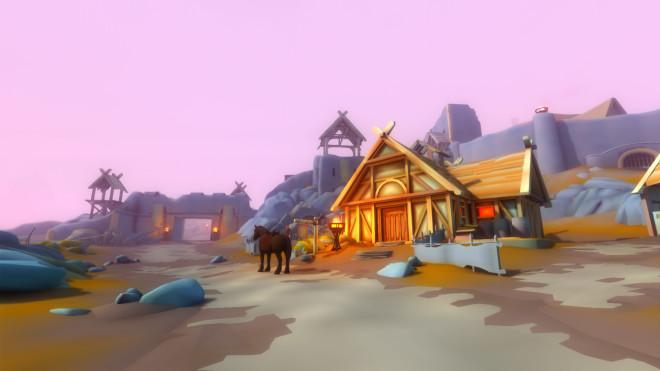 Beautiful Mod Turns Skyrim's World Into a Cartoon