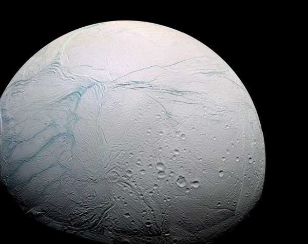 Cassini Bids Final Farewell Saturn Moon Enceladus Wired