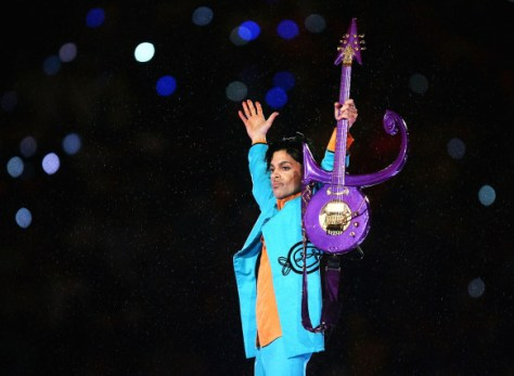 Prince's performance for the 'Pepsi Halftime Show' at Super Bowl XLI on February 4, 2007.