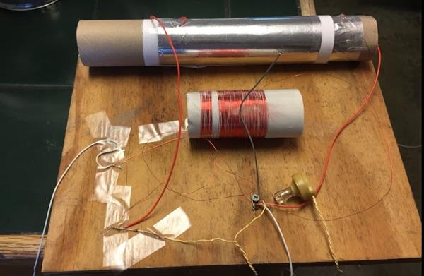Inductance Tuning Crystal Radio Circuit Radiocircuit Electrical