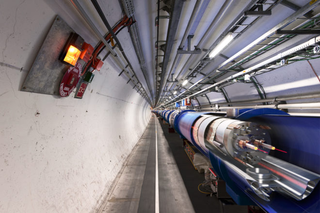 Sorry, Folks. The LHC Didn't Find a New Particle After All
