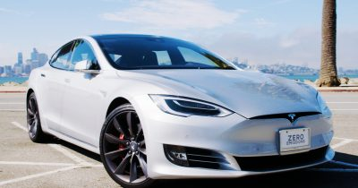 Here's Your First Look at Tesla's New Autopilot and UI | WIRED
