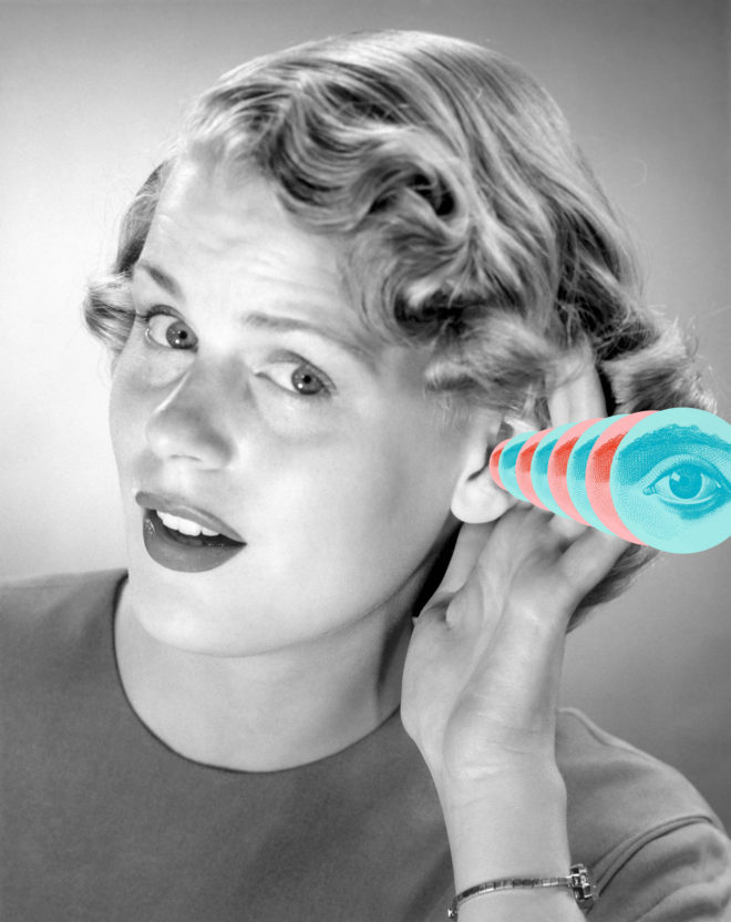 Meet the Woman Who Can See With Her Ears
