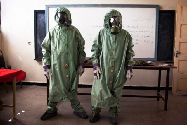 Why It's So Hard to Wipe Out All of Syria's Chemical Weapons