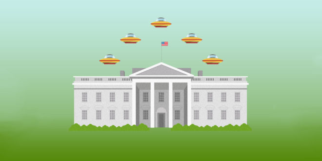 While You Were Offline: Hey Please Don't Call Trump's New Hotline to Report UFOs