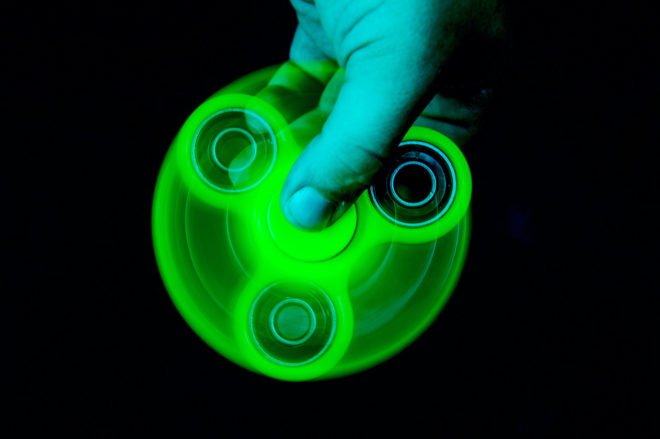 Want to Know How Long a Fidget Spinner Spins? Get a Laser and Some Physics