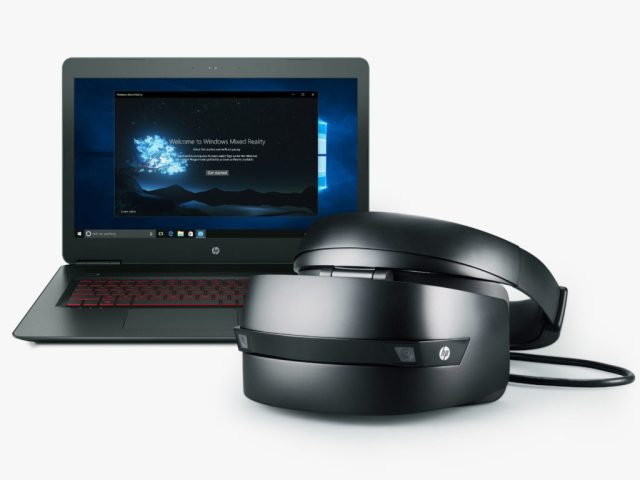 HP's new Mixed Reality headset, coming later this year.